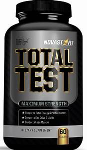 Testosterone Booster By Novastar Labs  Supports Testosterone Production  Enhances Strength