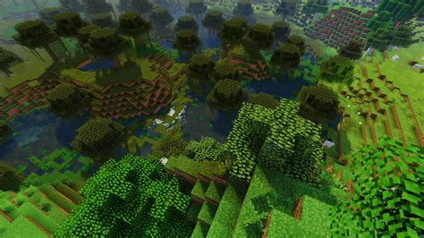 minecraft aerial view  hd wallpapers hd wallpapers