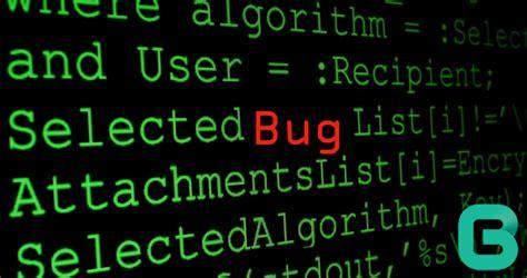 Interesting Software Bug Types