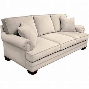 Hgtv home design studio by bassett panel arm sofa sofas for Design studio sectional sofa