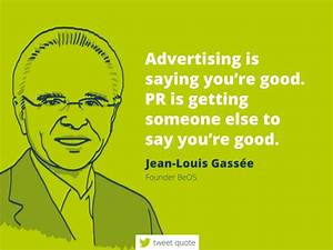 Advertisingis s... Inspirational Pr Quotes