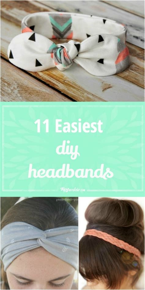 diy headbands easiest headband homemade tutorial cute tipjunkie knotted simple