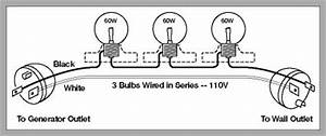note you can use a continuity tester to make sure the With wiring multiple outlets in series