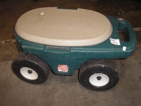 step 2 garden cart step 2 wheeling garden cart seat 22 quot l x 11 quot h