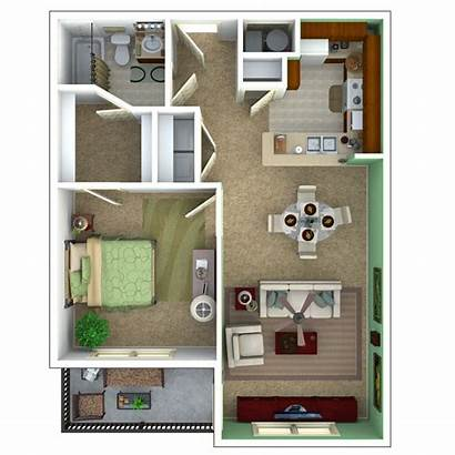 Floor Apartments Senior Plans Bedroom Apartment Plan