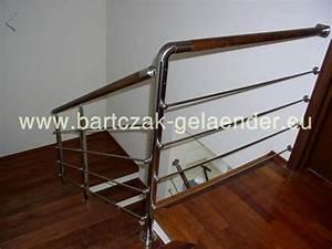Treppengeländer Selber Bauen Stahl : edelstahlgel nder mit glas innen au en bartczak gelaender ~ Lizthompson.info Haus und Dekorationen