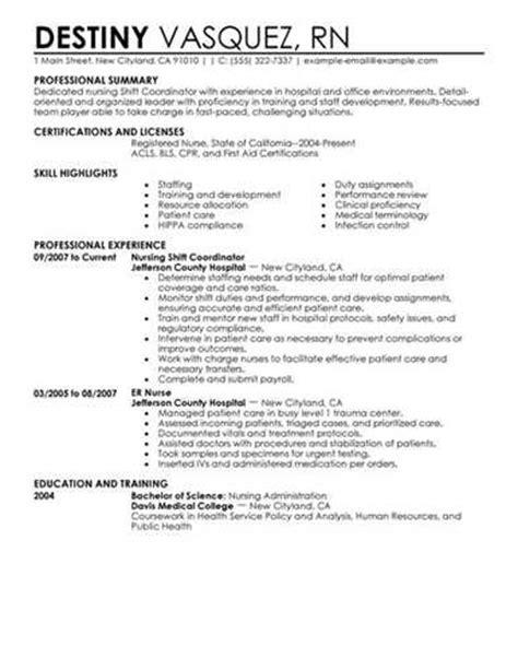 staffing coordinator resume exle
