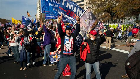Thousands of Trump Supporters Come Out for 'Million MAGA ...