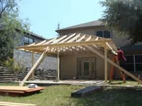 Diy Awnings For Decks by Cover Patio Youtube