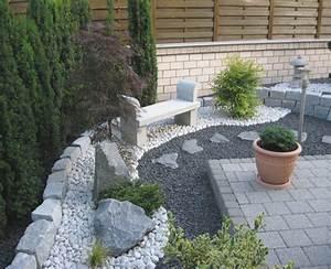 Gartengestaltung Pflegeleichte Gärten : gartengestaltung pflegeleicht mit steinen ~ Sanjose-hotels-ca.com Haus und Dekorationen