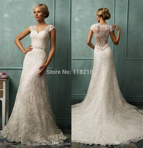 vestidos de renda novia sweetheart ivory lace bride