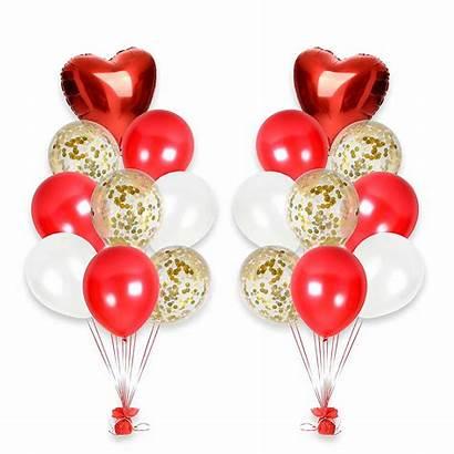 Balloon Valentines Decorations Birthday Bouquet Balloons Gold