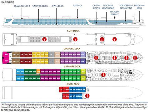scenictours river cruises scenic sapphire deck plan
