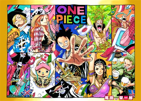 One Piece 790 Color Cover By Unrealyeto On Deviantart
