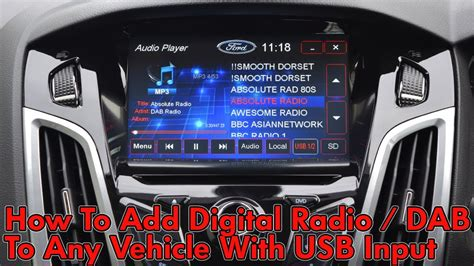 digital radio auto how to add digital radio to any vehicle with usb input
