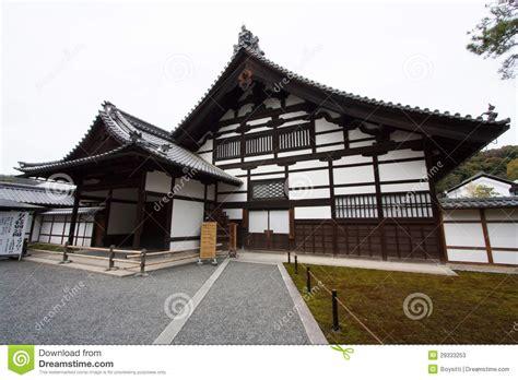 Traditionelles Japanisches Haus Stockbild