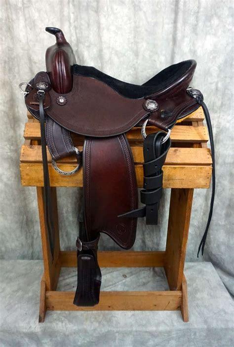 western horse quarter saddles standard saddle trail riding donkeys fitting tack