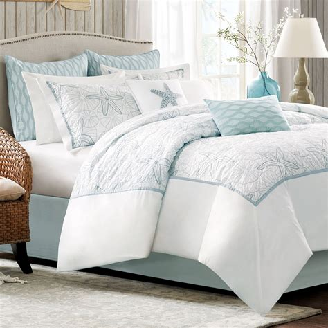 white blue bedding white fish bedding set on the bed complete with white 4614