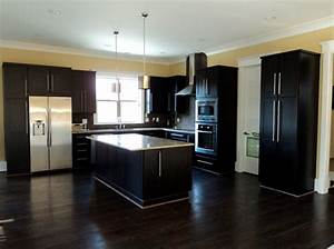 kitchen colors with dark cabinets 766