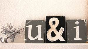 Deko Buchstaben Metall : buchstaben roomilicious ~ Orissabook.com Haus und Dekorationen