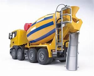 Prix Du Beton En Toupie : bruder 03554 camion toupie b ton scania r serie ~ Premium-room.com Idées de Décoration