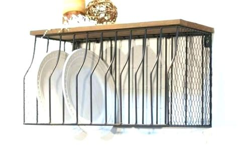 vertical plate rack vertical plate storage dinner plates rack wrought iron      weight