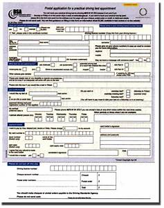 Designing an application form home design ideas for Documents for driving licence test