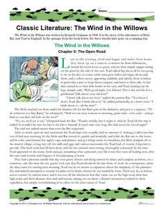 worksheets activities for the wind and the willows 1000 images about homeschool on pinterest worksheets