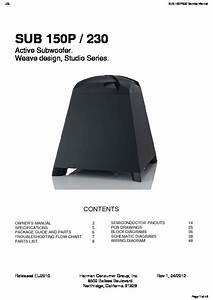 Jbl Sub 150p Service Manual  U2014 View Online Or Download