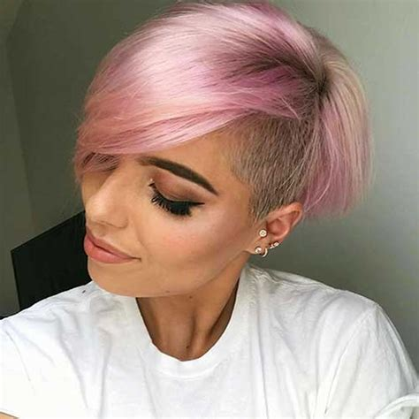 coolest short hairstyles  hair colors  women