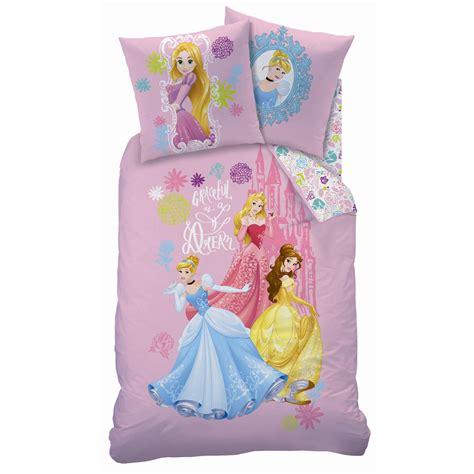 disney princesse parure de lit housse de couette 140 x 200 cm plc disney princesses