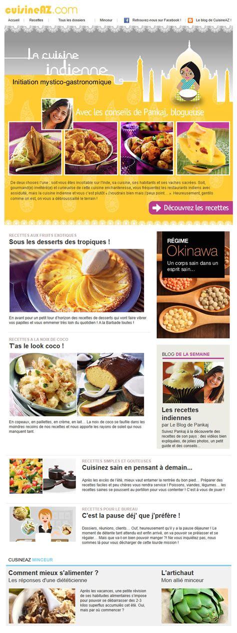 cuisinez az galerie de newsletters sur le thème quot quot the mailing book