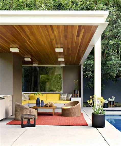 sofa santai 6 modern pergola design ideas