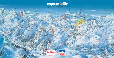Espace Killy (Val D'Isere, Tignes) - SkiMap.org