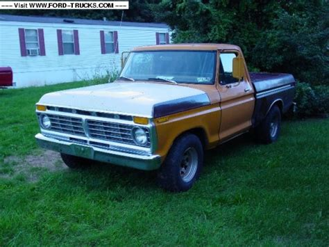 Ford Truck Gas Mileage by 1976 Ford F100 4x2 Gas Mileage Truck