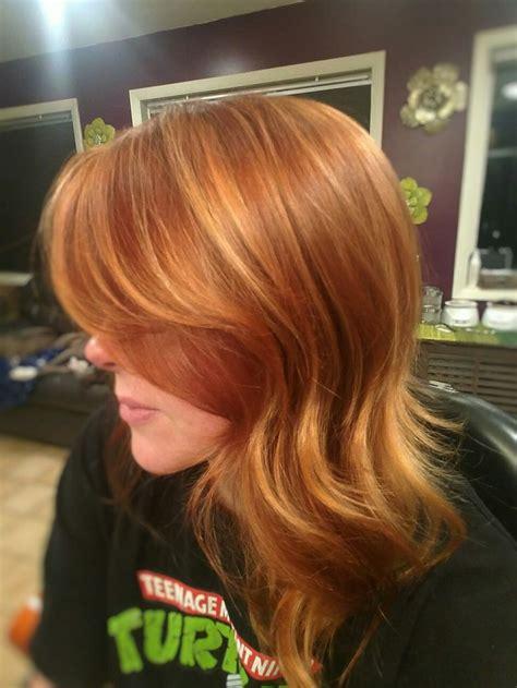 copper blonde hair color ideas  pinterest