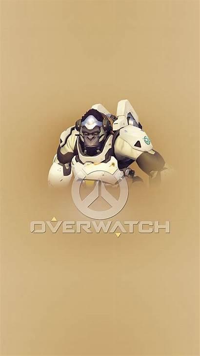 Overwatch Winston Iphone Wallpapers Ilikewallpaper
