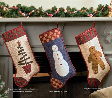 ideas  quilted christmas stockings  pinterest