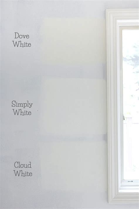 best 25 benjamin cloud white ideas on