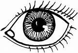 Coloring Eye Eyes Drawing Human Draw Daniel Gambar Colouring Printable Clipart Drawings Kleurplaat Lovely Mewarnai Paud Kumpulan Anak Untuk Preschoolers sketch template