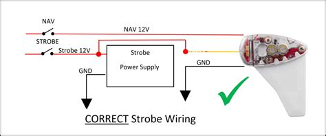 Whelen Strobe Power Supply Wiring Diagram by Strobe Wiring Diagram Uavionix