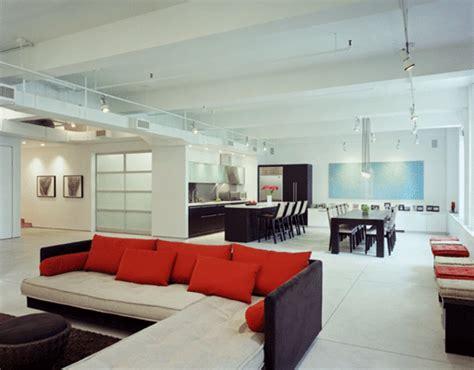 Modern Loft House Large Interior Design Ideas Design