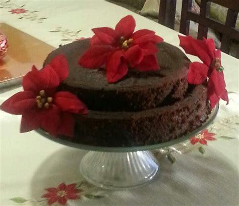 traditional guyanese style black cake guyanese food