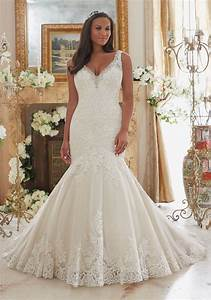 crystal beaded edging meets embroidered lace on tulle with With plus size beaded wedding dresses
