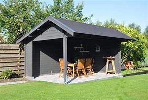 Gartenhaus Fenster Restposten : gartenhaus in grau modern zeitlos und elegant so muss das ~ Whattoseeinmadrid.com Haus und Dekorationen