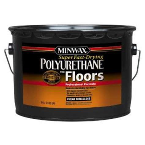 minwax 2 5 gal semi gloss super fast drying polyurethane