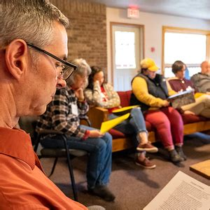 clergy leadership academy participants explore authentic