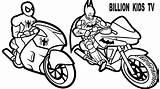 Coloring Spiderman Batman Bike Bikes Motor Printable Motorcycle Spider Getdrawings Popular Adam Getcolorings Coloringhome sketch template