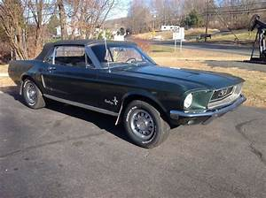1968 Ford Mustang Convertible 289 V8 Automatic 41425 Original Miles 1 of 800 !!! - Classic Ford ...