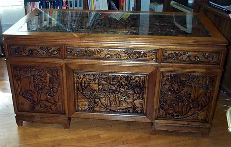 hand carved executive desk carved wood desk hostgarcia